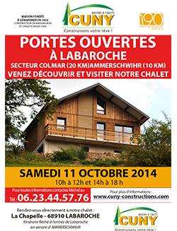 PORTES OUVERTE EN ALSACE SAMEDI 11 Octobre 2014