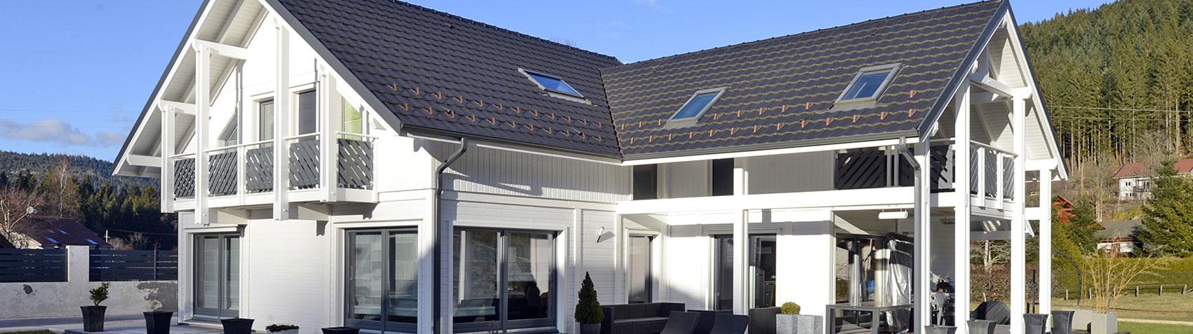 extension maison en bois en kit prix extension bois 40m2. Black Bedroom Furniture Sets. Home Design Ideas
