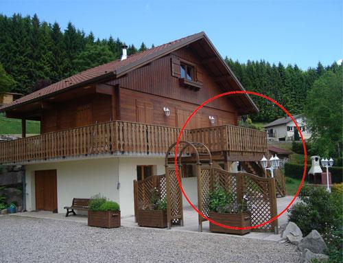 Agrandissement du balcon en terrasse