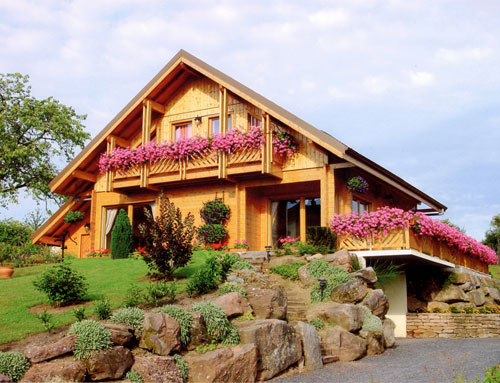Chalet Cuny gamme contemporain