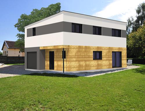 Bardage maison moderne - Bardage moderne ...