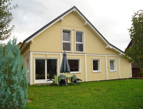 Maisonbois style alsacien bardage canexel nos maisons for Extension maison haut rhin