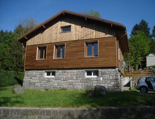 R novation de fa ades sur une ancienne maison r novation - Pret renovation maison ancienne ...