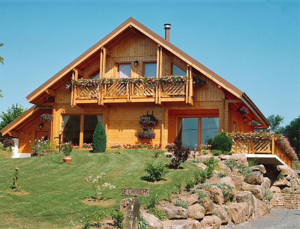 chalet contemporain mod le garden nos chalets en bois 57 moselle. Black Bedroom Furniture Sets. Home Design Ideas