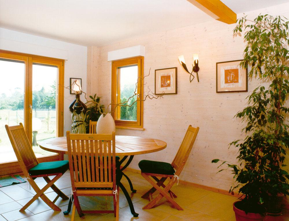 Grand chalet entre tradition et modernit nos chalets en bois 88 vosges for Fabricant maison bois