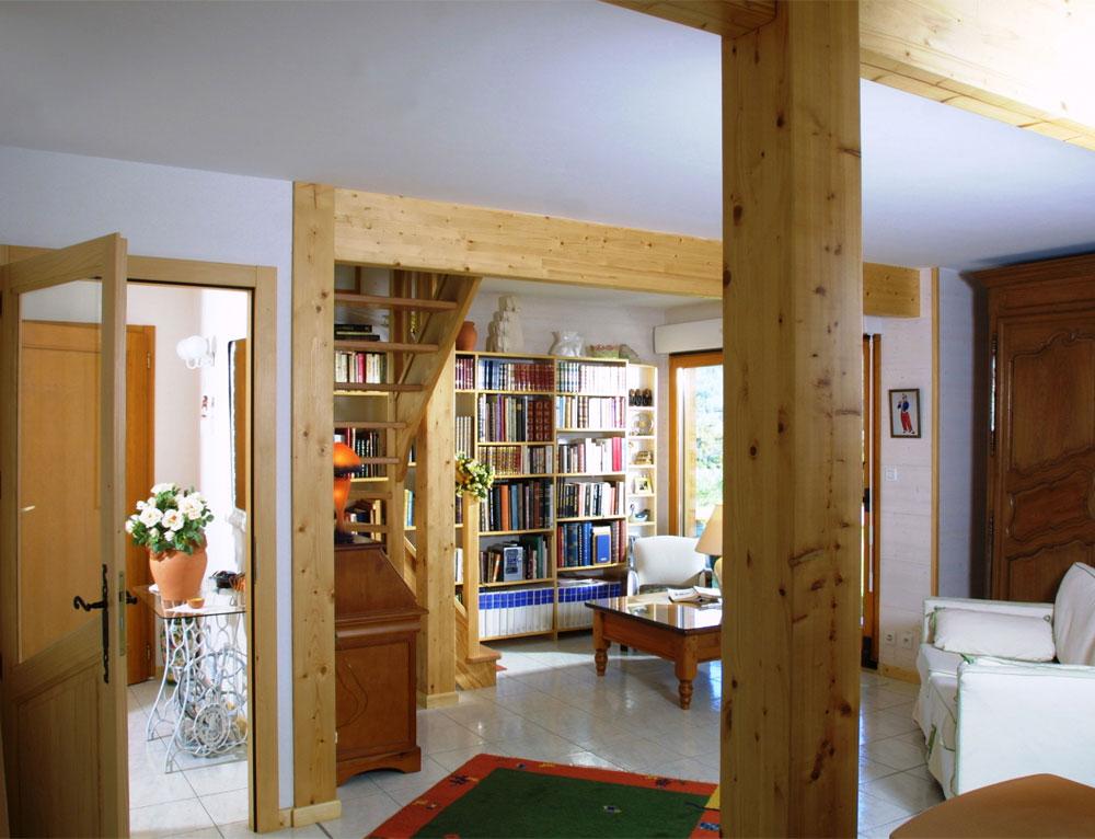 chalet traditionnel mod le variance nos chalets en bois 88 vosges. Black Bedroom Furniture Sets. Home Design Ideas