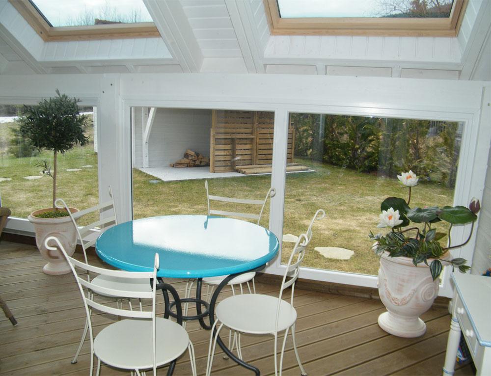 extension sur c t lat ral v randa r novation et extensions maison ou chalet extension. Black Bedroom Furniture Sets. Home Design Ideas