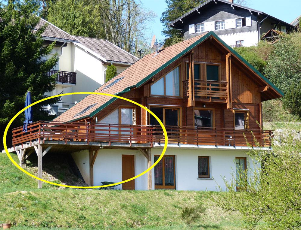 agrandissement d 39 une terrasse c t lat ral r novation et. Black Bedroom Furniture Sets. Home Design Ideas