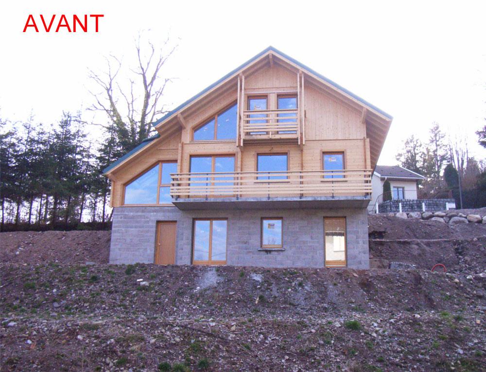 Super Agrandissement d'une terrasse côté latéral Rénovation et  RI29