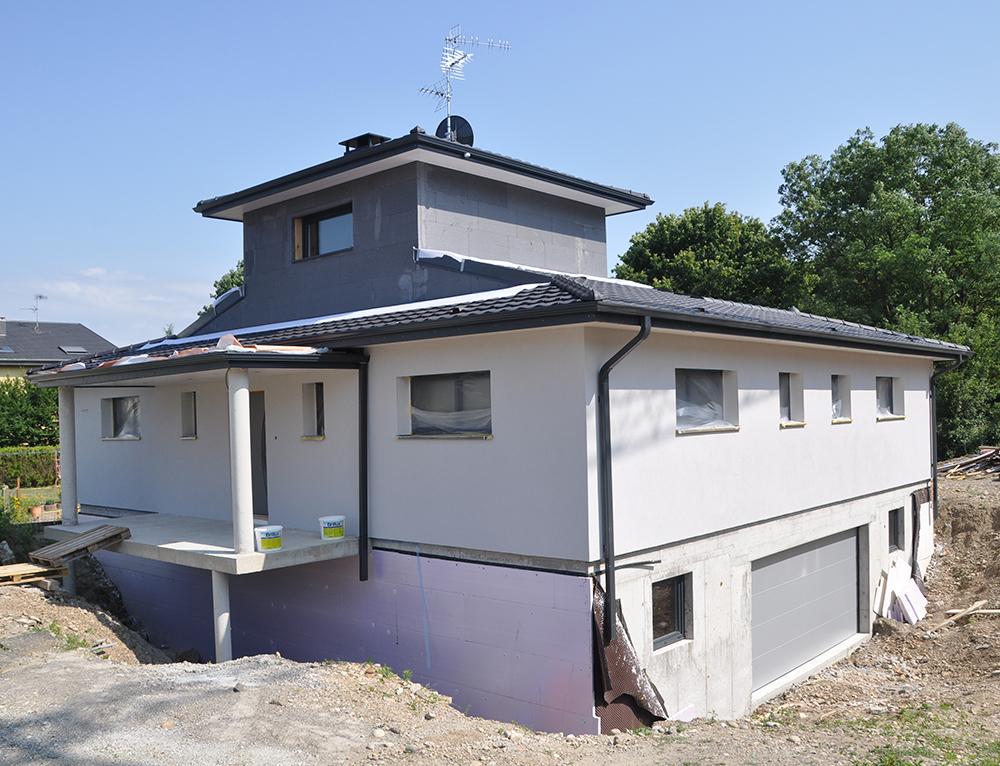 Maison à ossature bois, de plein pied avec dôme Nos maisons ...