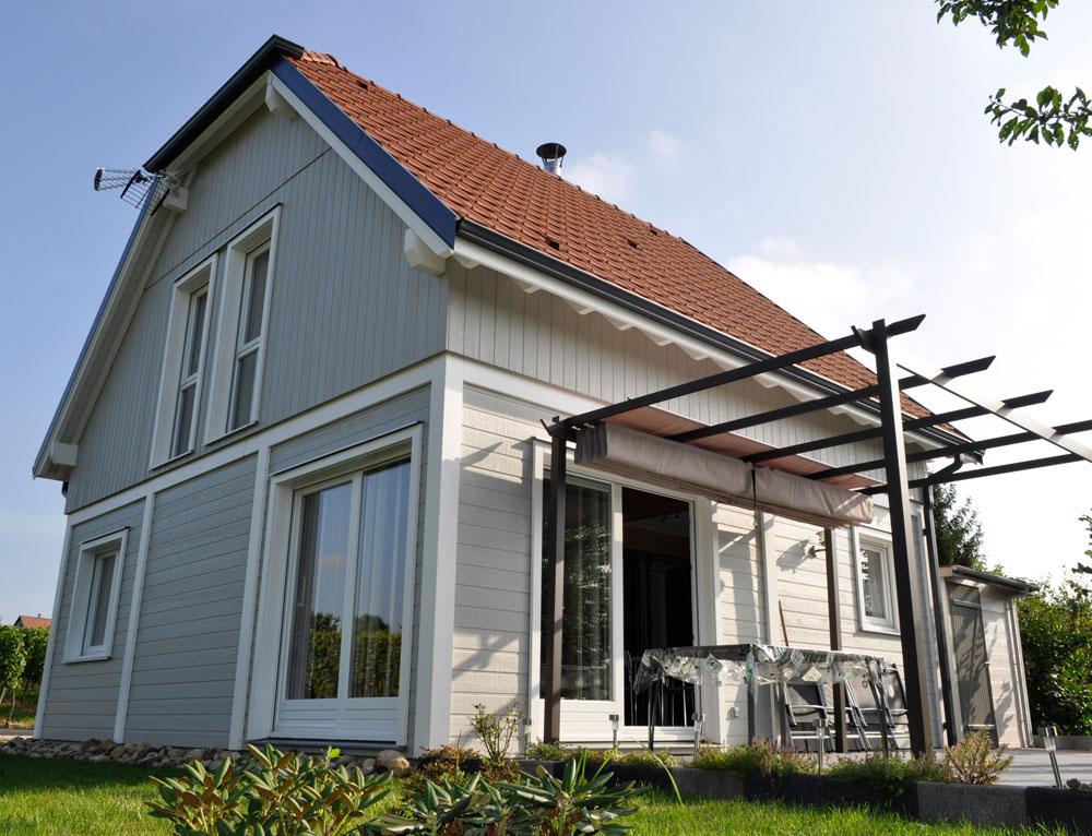 Maison en alsace fabrication de maison en ossature bois for Maison en bois alsace
