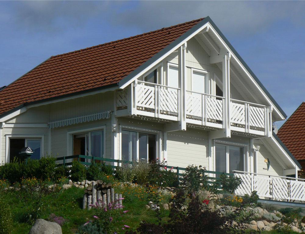 maison bois traditionnelle de charme nos maisons ossatures bois maison 2 pans. Black Bedroom Furniture Sets. Home Design Ideas