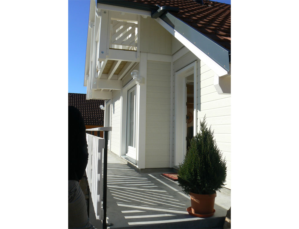 Maison bois traditionnelle de charme nos maisons ossatures for Maison charme et tradition