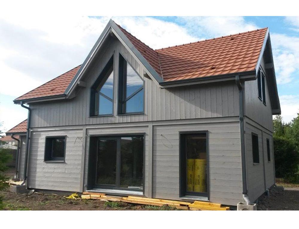 Maison ossature bois nos maisons ossatures bois maison 2 pans - Produit nettoyage facade maison ...