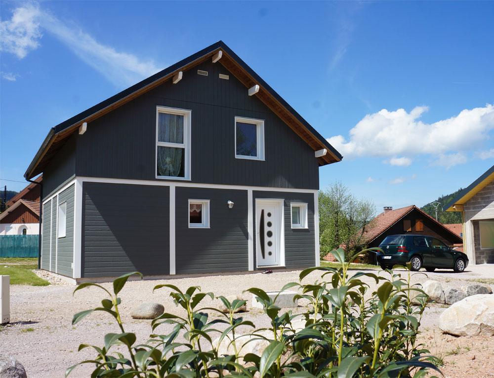 maison bois 54