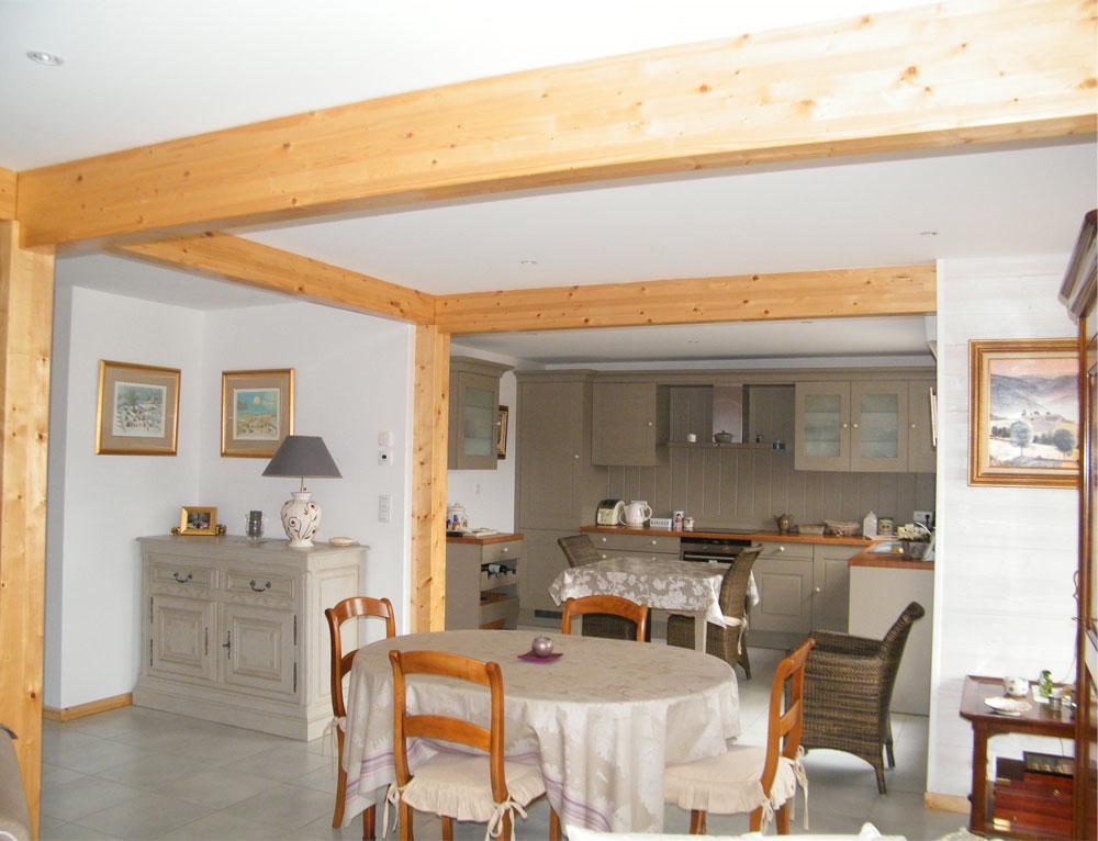 maison d 39 architecte ossature bois nos maisons ossatures bois maison 2 pans. Black Bedroom Furniture Sets. Home Design Ideas