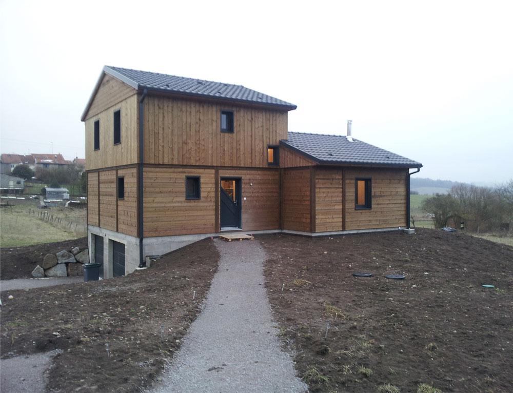 maison bois moderne cubique nos maisons ossatures bois maison moderne. Black Bedroom Furniture Sets. Home Design Ideas