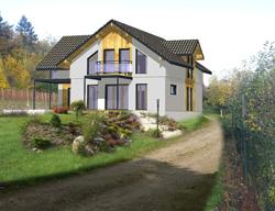 Belle maison à ossature bois