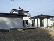 Belle terrasse integrée