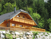 Chalet traditionnel de montagne