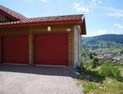 double garage en bois