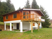 Extension sur un ancien chalet Cuny de 1972