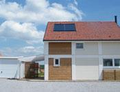 Garage simple ou double et toit végétalisé