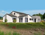 Magnifique maison moderne à ossature bois