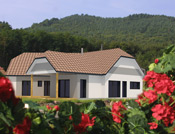 Maison atypique à ossature bois