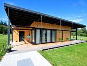 maison bois plain pied veranda