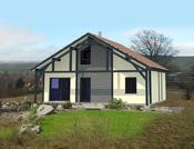 Maison de plain-pied à ossature bois