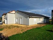 maison moderne en bois