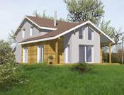 Maison ossature bois de standing